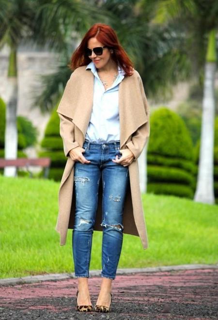 Zara Beige Hugo Boss Coats