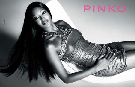 Naomi Campbell protagoniza la campaña de Pinko Primavera-Verano 2012