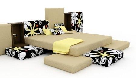 Beach, una cama inspirada en la playa