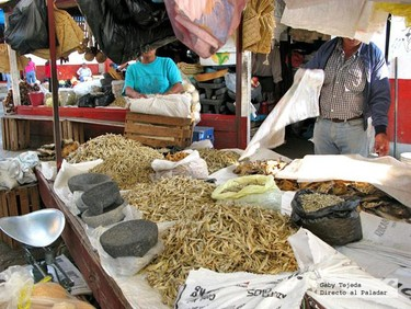Los tianguis de México. Mercados ambulantes.