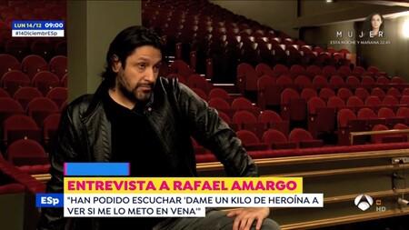 """Rafael Amargo, sin tapujos, acusa a la policía de """"corrupta"""" y explica qué pasa con Blanca Romero"""