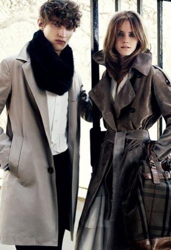 Foto de Emma Watson para Burberry Otoño-Invierno 2009/2010 (1/5)