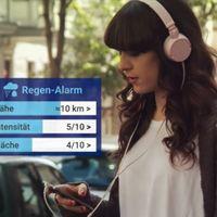 Rain Alarm: una app que notifica sobre la lluvia en tiempo en real y con gran precisión