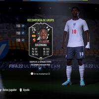 FIFA 22: consigue la carta Estrellas de Plata: Sulemana Intransferible