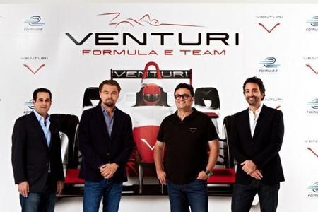 Leonardo DiCaprio y Venturi Automobiles, asociados, cierran la parrilla de la Fórmula E