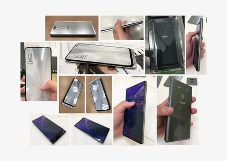Asus Smartphone Sistema Deslizable Doble Fotos