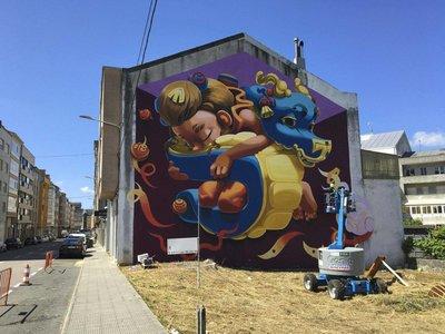 RexeneraFest, el festival de arte urbano que cambia la estética de Carballo