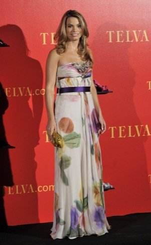 Carla Goyanes: Premios Telva 2010
