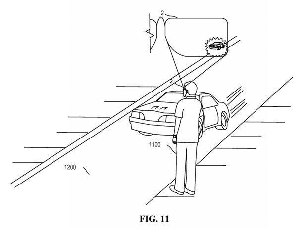 Foto de La patente de Lentes de Realidad Aumentada de Microsoft (2/3)