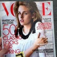 Kristen Stewart sofisticada en la portada de Vogue de Proenza Schouler