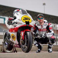 ¡Hermosa! Yamaha celebra su 60 aniversario en MotoGP poniendo guapa la moto de pruebas de Cal Crutchlow
