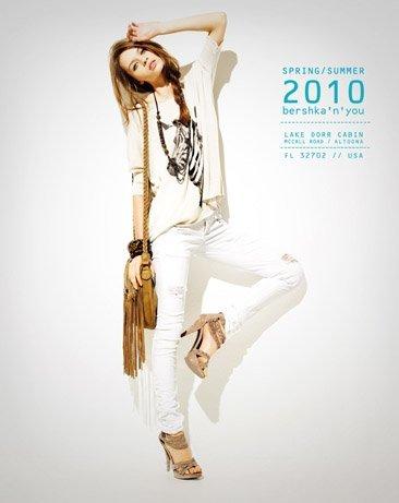 Bershka viste a la mujer joven este verano 2010: lookbook completo con todos los estilos X
