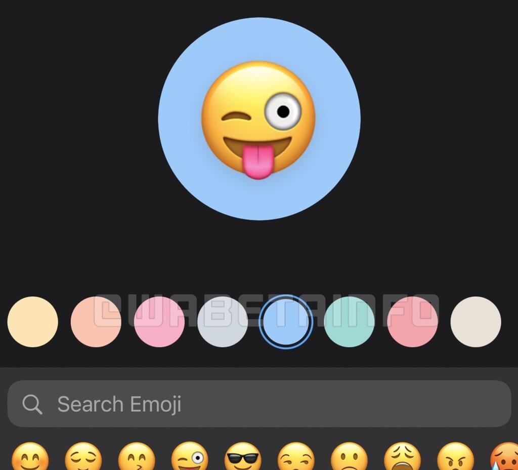 WhatsApp adoptará el estilo de iMessage para ilustrar los grupos con emojis