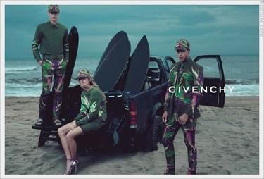 Givenchy y su campaña Primavera-Verano 2012