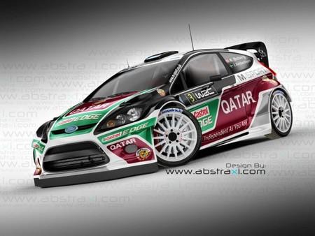 Así serían los colores del equipo M-Sport para la temporada 2013