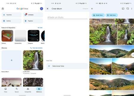 Google Fotos Material You 2