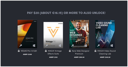 Humble Software Rebundle Vegas Pro Discover Creative Freedom Pay What You Want And Help Charity 2018 04 12 14 56 53