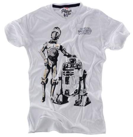 Camisetas Star Wars en Pull and Bear