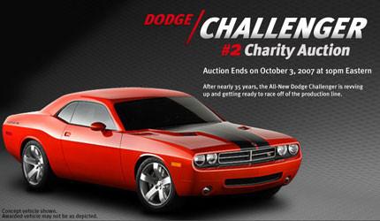 Uno de los 3 primeros Dodge Challenger ya está siendo subastado