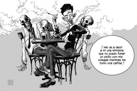 fumar no es un derecho. la hostelería sobrevivirá