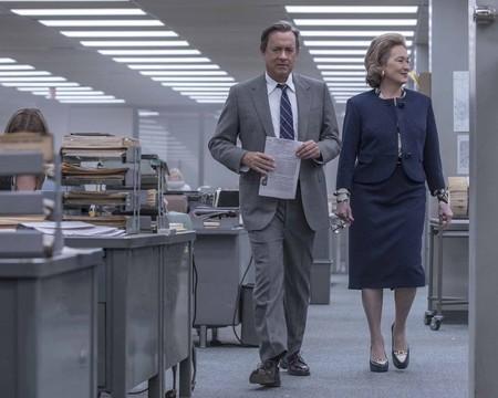 'Los archivos del Pentágono', una rotunda exhibición del talento de Spielberg, Hanks y Streep