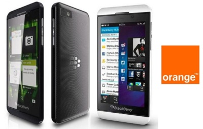 Precios Blackberry Z10 con Orange