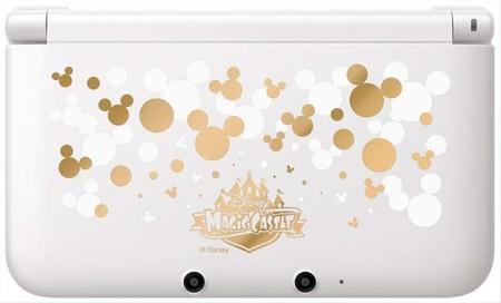 Comerciales de Disney Magical World mostrando su 3DS especial