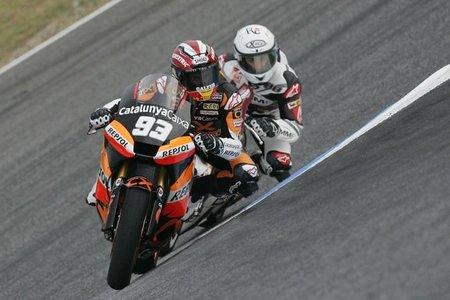 Marc Márquez, diamante en bruto para Moto2