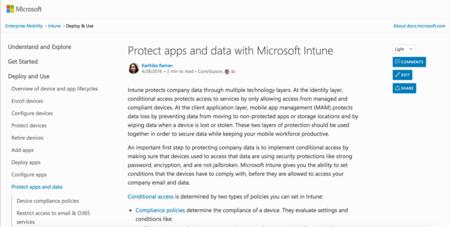 Microsoft lanza docs.microsoft.com, su nueva web de documentación para sustituir Technet y MSDN