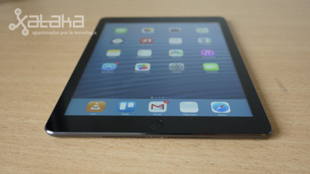 iPad air potencia