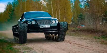 Bentley Ultratank: un Continental GT convertido en tanque que sólo podía venir de Rusia