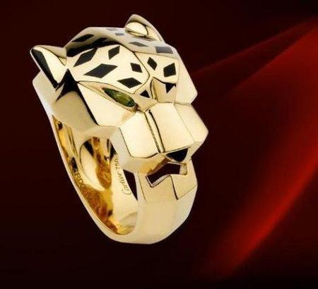Sortija Panthère, la sofisticación felina de Cartier