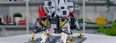 Lego y la NASA preparan un increíble set del Módulo Lunar del Apollo 11 para celebrar los 50 años de la llegada del hombre a la Luna