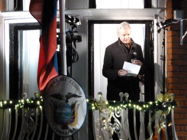 Assange Ecuador