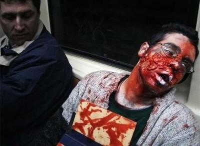 Un homenaje a George A. Romero llenó de zombies las calles de Madrid