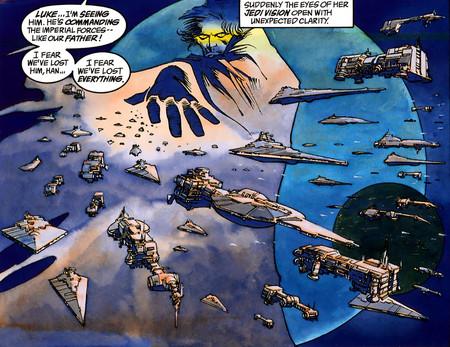 Imperio Oscuro planeta comic