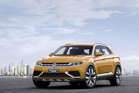 Auto Show de Los Angeles 2013: Volkswagen CrossBlue Coupé Concept