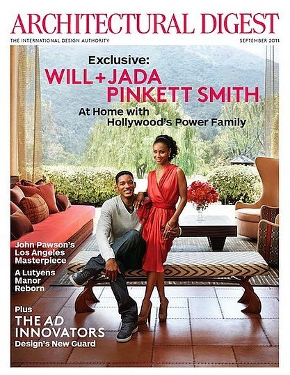 Will Smith presenta su casa en Architectural Digest