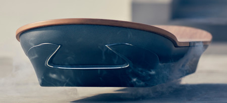 Lexus Hoverboard es un prototipo de monopatín volador que llega a tiempo para Marty McFly