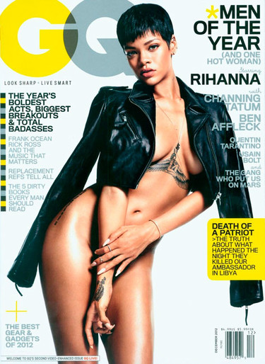 Rihanna desnudita para la revista GQ... ¿se puede estar más tremenda?