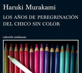 'Los años de peregrinación del chico sin color', de Haruki Murakami