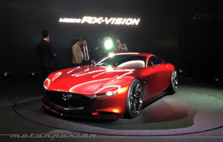 Si el Concept Mazda RX Vision presentado en Tokio se hace realidad, lo vamos a pasar muy bien con él