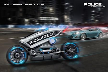 Interceptor, la moto no tripulada policial que podría ser el azote de los malos