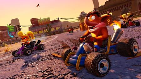 Crash Team Racing Nitro-Fueled se podrá jugar gratis durante unos días en Nintendo Switch con Nintendo Switch Online