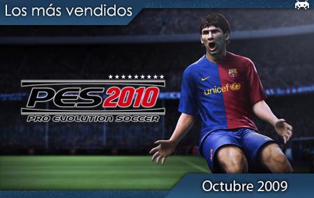 Los juegos más vendidos en España. Octubre 2009