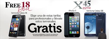 Oceans lanza una nueva promoción para captar clientes ofreciendo smartphones gratis para empresas