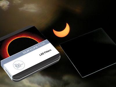 Un filtro para eclipses solares y un líquido de limpieza, novedades del fabricante Lee Filters