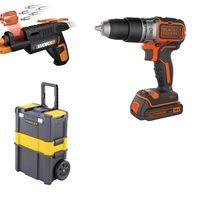 4 ofertas del día en Amazon: taladros, atornilladores y martillos eléctricos de marcas como Worx, Bosch o Black & Decker