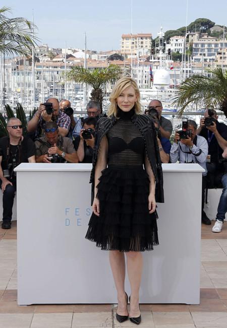 Cate Blanchett Rooney Mara Photocall Carol Cannes 2015 2