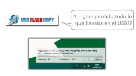 Tus memorias USB más seguras con USBFlash Copy